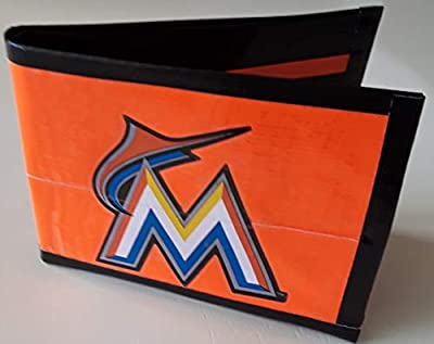Miami Marlins MLB Baseball Bi-Fold Duct Tape Wallet