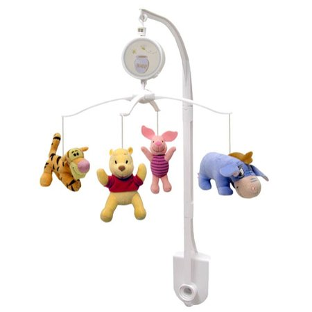 Pooh Musical Mobile (Disney Baby Winnie the Pooh Crib Musical Mobile Tigger Piglet Eeyore Pooh)