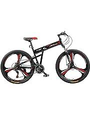 Fitness Minutes Folding Bike, Black, FM-F26-03M-BK
