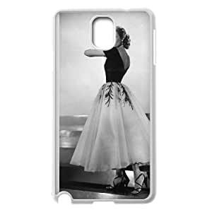 Samsung Galaxy Note 3 Cell Phone Case White Grace Kelly 005 Delicate gift AVS_668860