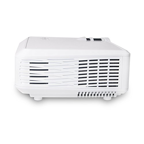 Projector warranty included xinda 2000 lumens led lcd for Portable projector with hdmi input