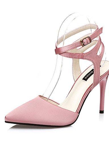 tacones rosa us6 Scarpe casual cn36 ZQ Grigio Rosso negro stiletto mujer eu39 us8 uk4 Rosa seda di tacones ® ¨ cn39 grigio eu36 uk6 n tac zxwx1qpBd
