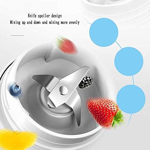 Accueil Mini-agrumes tasse de jus électrique portable for jus de fruits frais, purées, rose, 350ml, 230 Watts