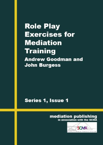 Role Play Exercises in Mediation - Kindle edition by John