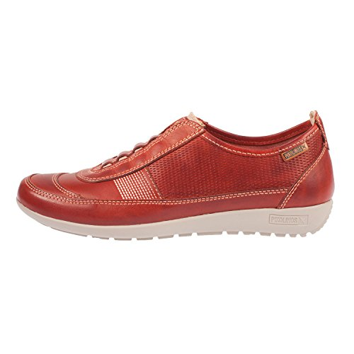 Pikolinos Women's Lisboa Leather Slip on Sneaker (W67-3619) Sandia GZXNAU1E4