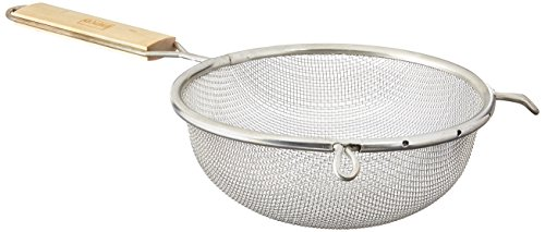 Winco Strainer, 6.25-Inch Diameter, Medium Single Mesh -