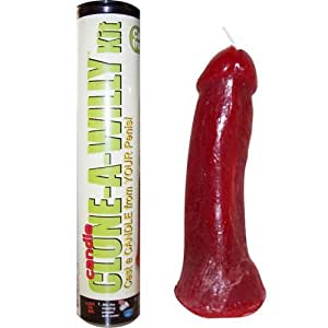 Clone-A-Willy Willie Candle Dildo Kit