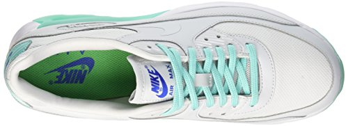 Nike W Air Max 90 Ultra Essential, Baskets Femme Blanc Cassé (Pr Pltnm/Pr Pltnm-hypr Trq-spr)