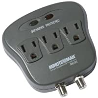 MINUTEMAN MMS130C / Wall Tap Coax Protection 1080 Joules