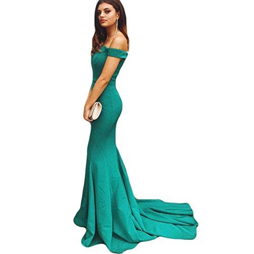 Dreagel Sirène Bustier Robes De Bal Longue Robe De Soirée Formelle 2018 Turquoise Des Femmes