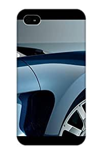 Craigeggleston Anti-scratch And Shatterproof Photos Of Bugatti Veyron Phone Case For Iphone 4/4s/ High Quality Tpu Case