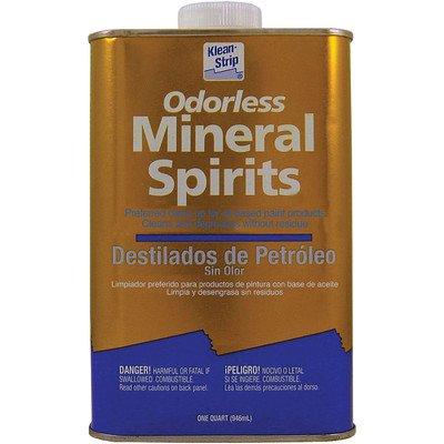 Materials Mineral (Klean-Strip QKSP94005CA Odorless Mineral Spirits, 1-Quart)