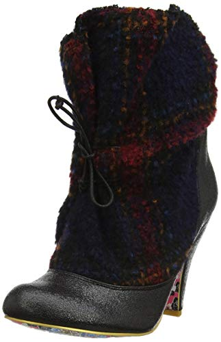 Multi Multi Multi Irregular Mountain Mountain Mountain Marshmallow Donna Black Arricciati Nero Stivali V Choice pp48Aq
