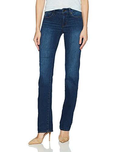 NYDJ Women's Marilyn Straight Leg Denim Jeans, cooper, 4