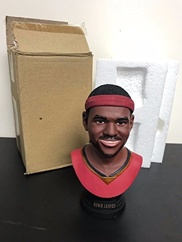 LeBron James KING JAMES Cleveland Cavaliers Basketball Bust Rarely Seen 7