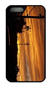 Case For Iphone 6 4.7Inch Cover CaCustomized Unique Design Sunset 75 New Fashion PC Black Hard