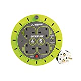 Status S5M13ACR - 13 A 4 Socket Cassette Reel with Thermal Out