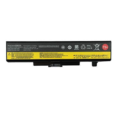 Yafda 45N1043 New Laptop Battery for Lenovo ThinkPad E430 E430C E431 E435 E440 E445 E530 E530c E531 E540 E535 Series IdeaPad Y580 Z580 G580 B590 G480 G585 Z480 Y480 Series L11S6Y01 75+ 10.8V48WH