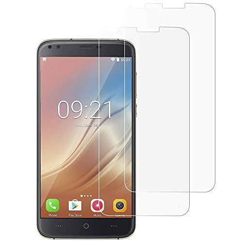 [2 Packs] Gzerma DOOGEE X30 Screen Protector, Shockproof, Touch Accuracy, High Definition Clear, Easy Bubble Free Installation Front Protective Film Cover for Doogee X30L 5.5 inch Smartphone