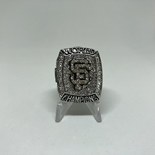 2012 Buster Posey #28 San Francisco Giants High Quality Replica 2012 World Series Ring Size 12.5-Silver