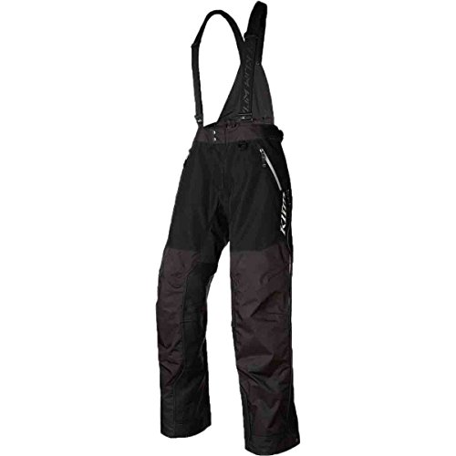 (Klim Havoc Men's Shell Bibs - Black / X-Large)