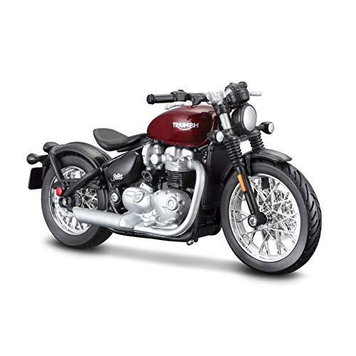 Triumph Bonneville Bobber Diecast Model Motorcycle