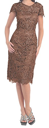 brown dama dresses - 5
