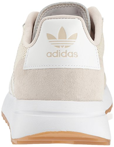 runner Adidas white clear Brown W Femme Brown Clear Flb wqrqZ5C4