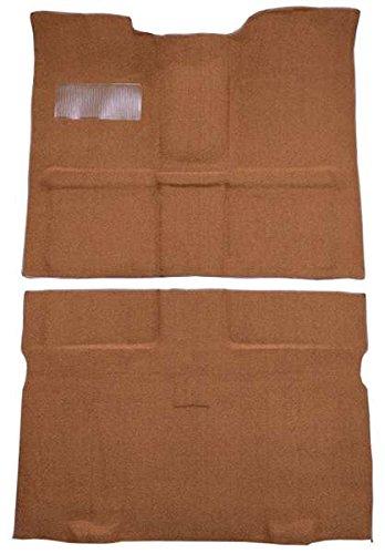 1967 to 1972 Chevrolet Suburban Carpet Custom Molded Replacement Kit, Passenger Area, 4 Wheel Drive (501-Black 80/20 Loop)