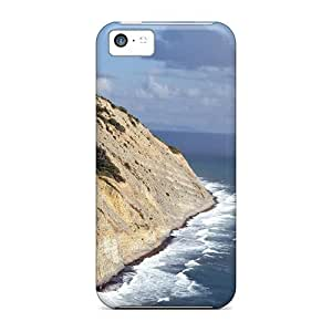 LastMemory Case Cover For Iphone 5c - Retailer Packaging Rainbow Over The Waves Protective Case