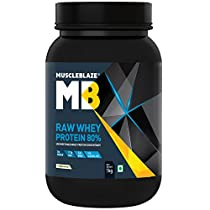 MuscleBlaze Raw Whey Protein 22 lb Unflavoured
