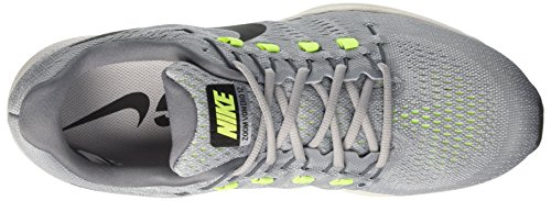Nike Mens Luftzoom Vomero 12 Löparsko Wolf Grå / Svart-cool Grå-ren Platina 13,0