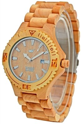 Wood Mark ZS-W023B Mens Potomac Maple wood Watch