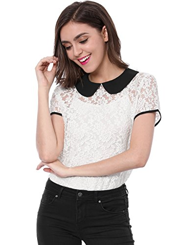 Allegra Womens Through Contrast Collar product image