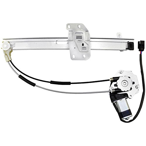ACDelco 11A113 Professional Front Driver Side Power Window Regulator with - Jeep Cherokee Motor Window 2001