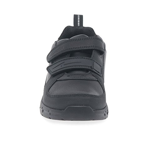 Clarks Maris Fire Jnr Boys School Shoes negro