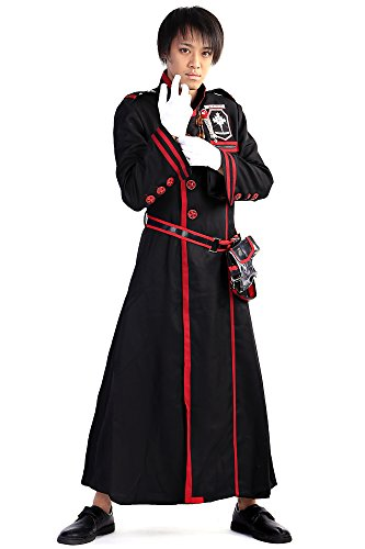 [SDWKIT D.Gray-Man Cosplay Custome Bakanda Kanda Yu Exorcist Uniform Set V3] (Exorcist Halloween Costume Uk)