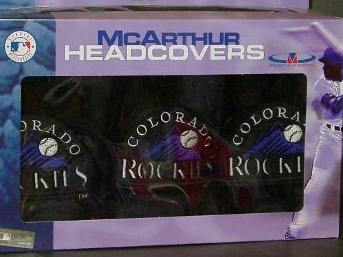 - Colorado Rockies Golf Club Head Cover Set