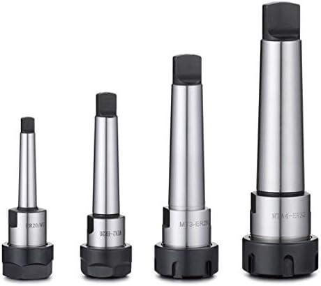 Taper Cone MT1 MT2 MT3 MT4 ER11 ER16 ER20 ER25 ER32 ER40 Collet Chuck Holders,CNC Machine Tools Holder Lathe Tools (Hole Diameter : MTA2 ER25)