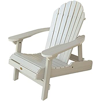 amazon com highwood classic westport adirondack chair whitewash