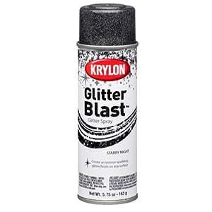 Krylon K03805 Glitter Blast, Starry Night