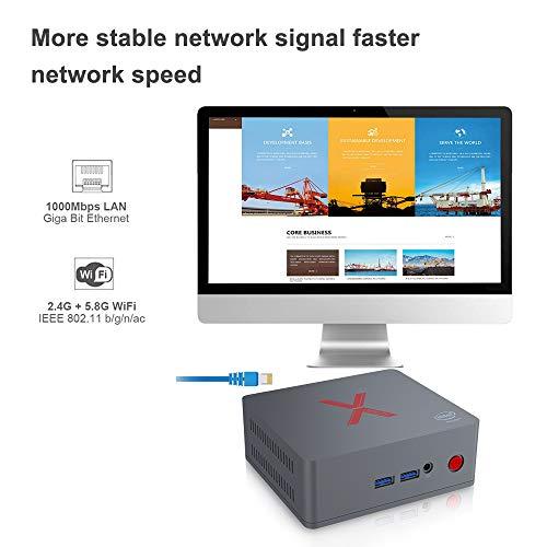 Mini Computer Windows 10-64bit Intel Atom x5-Z8350 MFY Mini Pc Z83II 2GB//32GB//4K//HDMI//Dual WiFi//BT 4.0//1000Mbps Z83II 2G//32G