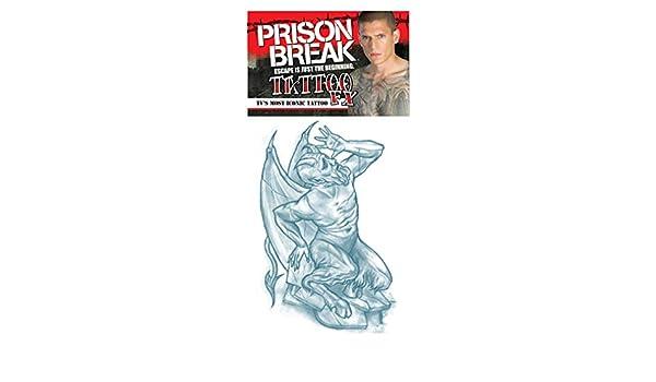 La rotura de la prisión tatuaje dócil Diablo: Amazon.es: Juguetes ...