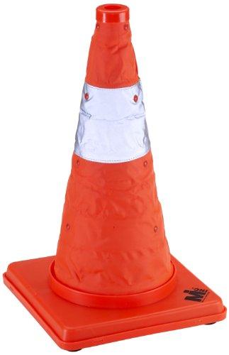 Mutual 17714 Nylon Collapsible Traffic Cone, 18