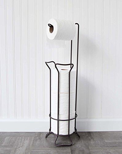 standing Toilet Paper Holder in Oil Rubbed Bronze - Warwick ()