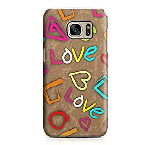 Samsung S7 Case Heart Love Pattern Pattern Great For Girls Durable Metal Inforced Light Weight Samsung S7 Cover Wrap Around 137