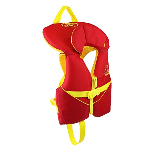 Stohlquist Infant PFD 8-30 lbs, Red/Yellow