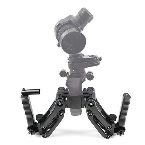 Osmo Plus Osmo Mobile//Pro//Raw Crazepony-UK 4-Axes Gimbal Stabilisateur pour DJI Ronin S Flexible Spring Dual Handle Grip Holder Arm for DJI Osmo DJI Osmo 4K Camera