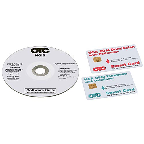 - OTC Tools 3421-150 Genisys Loyalty Software Kit (2014 Domestic, Asian and European)