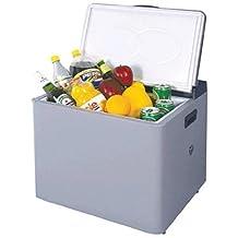 12 Volt Portable Refridgerator Mini Camping Fridge 12V RV Trailer Big Rig Cooler (37 Quarts Capacity)